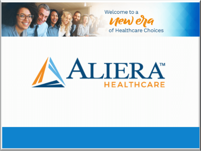 Aliera Healthcare Button