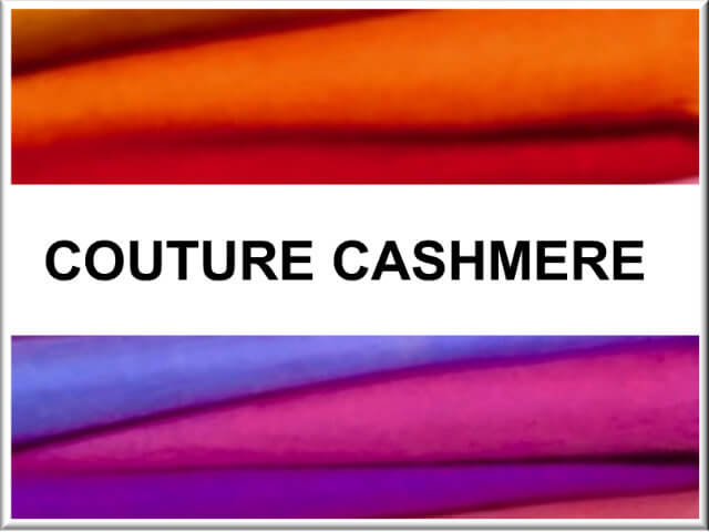 Couture Cashmere Button