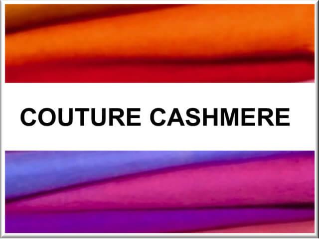 Couture Cashmere Button