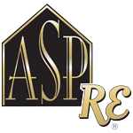Accredited Staging Professional Real Estate Logo