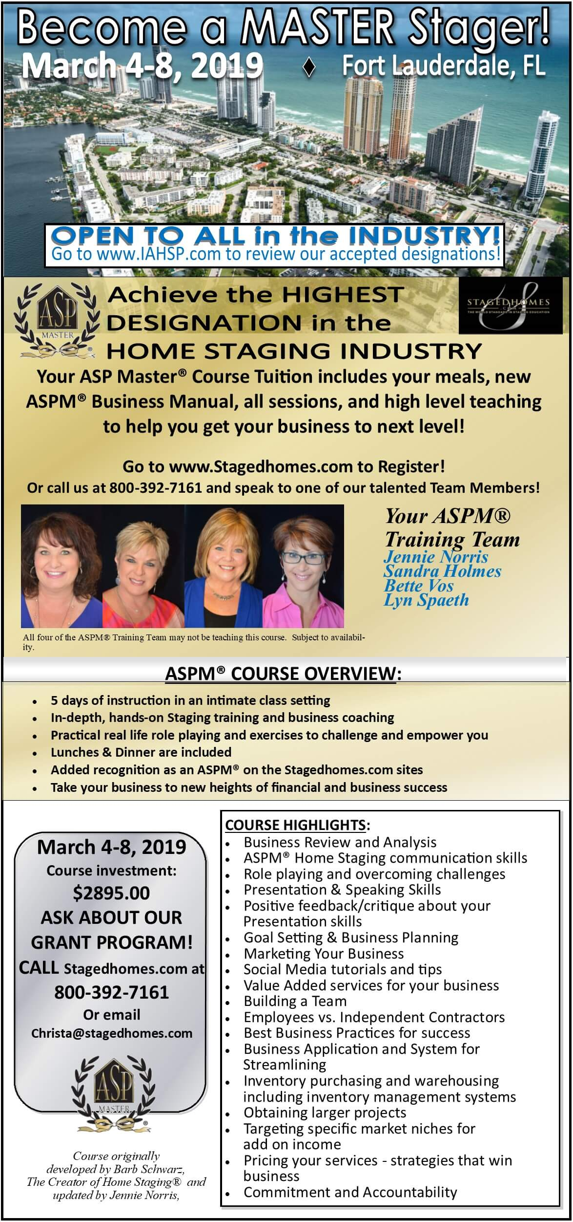 The World Leader In Home Staging Training Stagedhomes