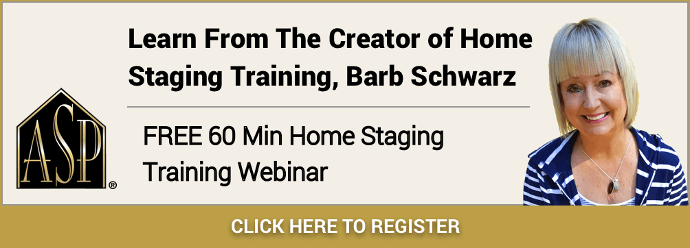 FREE 60 Min Home Staging Training Webinar