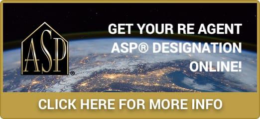 Real Estate Agent ASP Designation Online