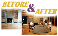 Staged Homes Before and After