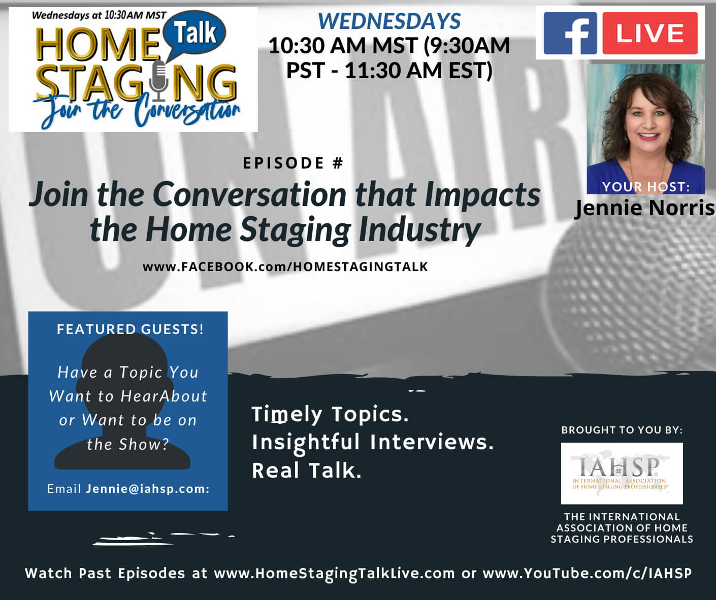 Home Staging Talk Show Live