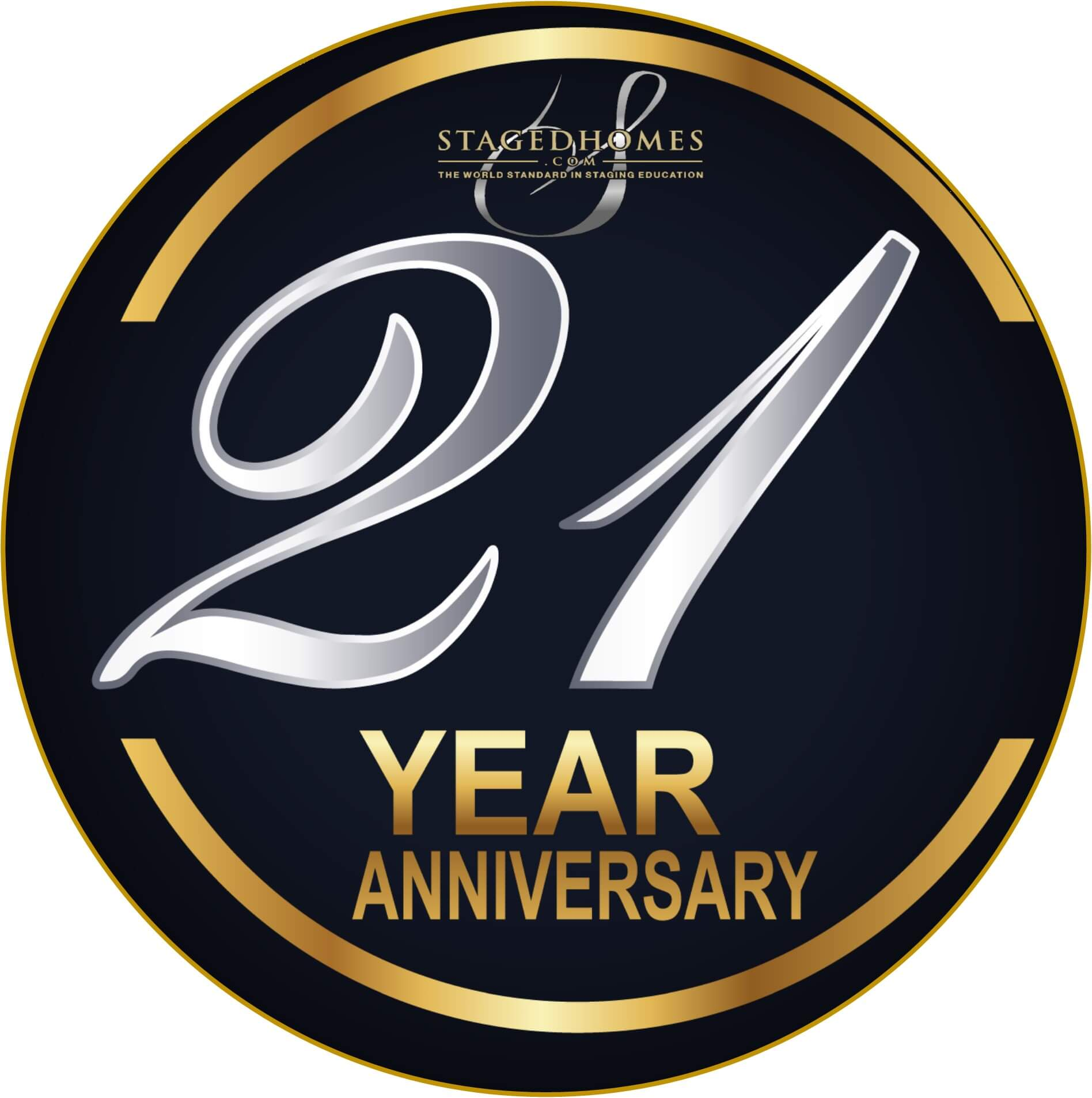 Celebrating 20 years Logo